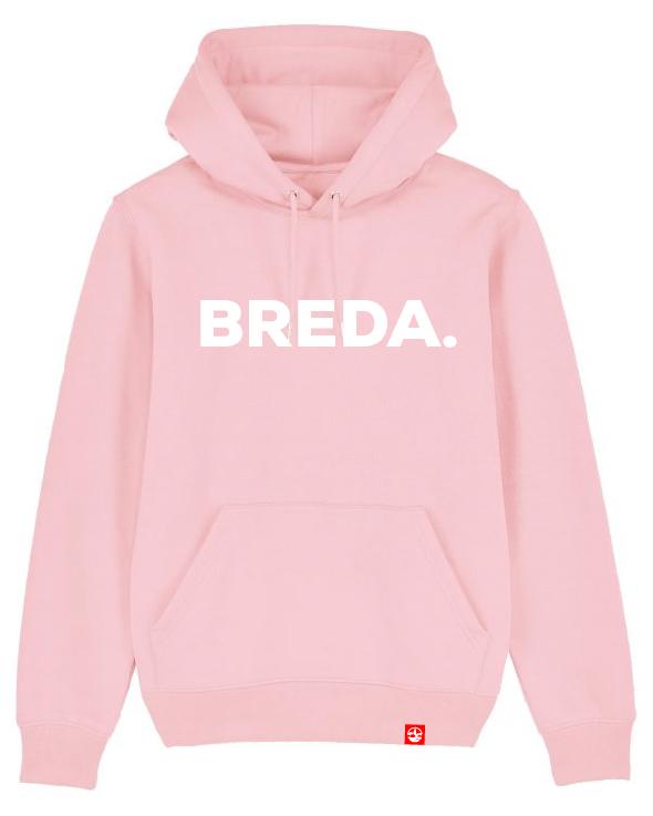 Hoodie Breda pink