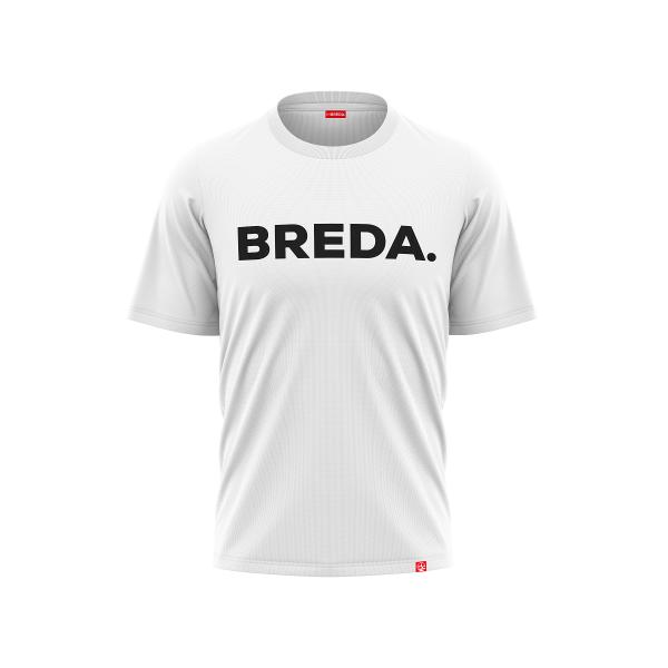 t-shirt Breda white